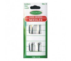 HAND SEWING NEEDLES 2PKT