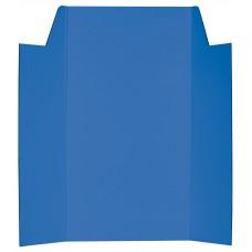 CARDBOARD DISPLAY BOARD - BLUE - 1020 X 875MM