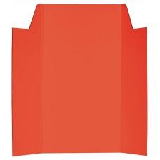 CARDBOARD DISPLAY BOARD - RED - 1020 X 875MM