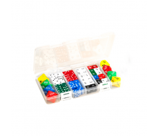 CLASSROOM DICE SET - 56 PIECE - IN CONTAINER