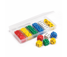 JUMBO DICE CLASSROOM SET - IN CONTAINER
