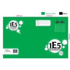 1E5 - QUAD BOOK - 7MM - WITH MARGIN