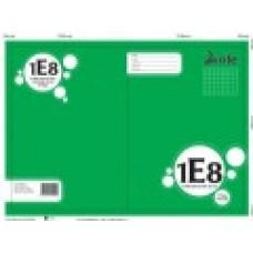 1E8 - A4 - QUAD BOOK - 7MM