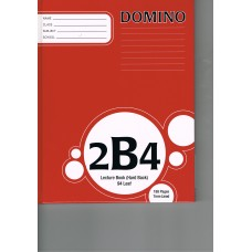 2B4 - EXERCISE BOOK - HARDCOVER - RULED - 7MM