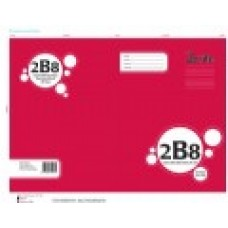 2B8 - 7MM - RULED - HARDCOVER BOOK