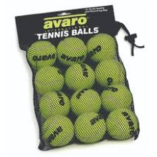 TENNIS BALLS - 12PCE - DRAW STRING BAG