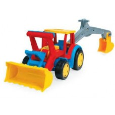 WADER GIANT TRACTOR WITH SHOVEL & EXCAVATOR
