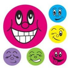 AVERY MERIT STICKER - Mini Smiley Faces 800's