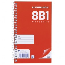 8B1 165 x 100 Notebook Spiral Bound