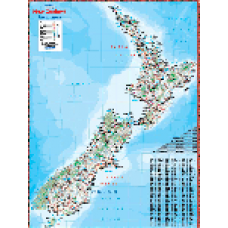 A4 - NZ MAP COATED