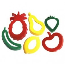 FRUIT COOKIE CUTTERS - SET 6