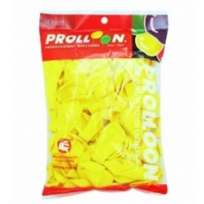 BALLOONS - YELLOW - PKT OF 100