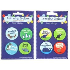 REWARDS BADGES - SET 8 - ASSORTED