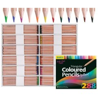 BASICS COLOURED PENCILS CLASS SET 288