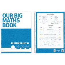 OUR BIG MATHS BOOK WARWICK