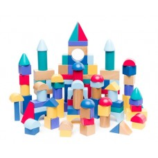 BUILD AND PLAY BLOCK SET 100 WOODEN