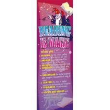BOOKMARKS - READING IS MAGIC - BM472