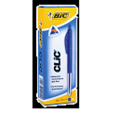 BIC CLIC PENS - MEDIUM BLUE - EACH
