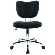 BRENTON CHAIR - STUDIO - LOW BACK - BLACK