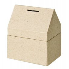PAPIER MACHE - MONEY BOX
