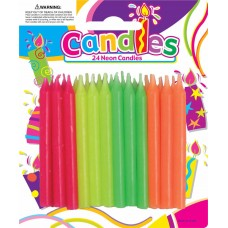 NEON - CANDLES - 24'S