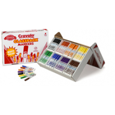 CRAYOLA - WASHABLE MARKERS - BULK - BOX 200