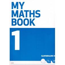 MY MATHS BOOK 1 BLUE QUAD WARWICK