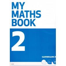 MY MATHS BOOK 2 BLUE QUAD WARWICK