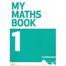 MY MATHS BOOK 1 GREEN UNRULED WARWICK