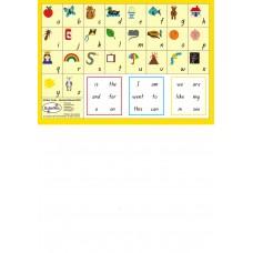 A5 - MINI CARDS - ALPHABET BLENDS - B223