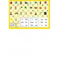 A5 - MINI ALPHABET CARDS - B224 - TXT FONT