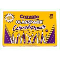 CRAYOLA - COLOURED PENCILS - 240'S - CLASSBOX