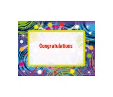 Certificate - Congratulations - Packets of 35 CE375