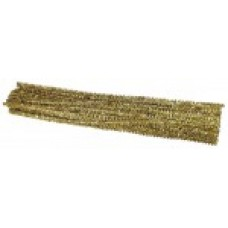 METALLIC - GOLD - PIPE CLEANERS - 30CM - 100'S