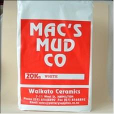 MACS - WHITE - CLAY - 20KG BAG