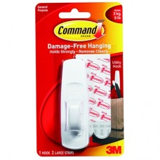 COMMAND HOOKS - LARGE - WHITE