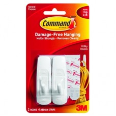 COMMAND HOOKS - MEDIUM - WHITE