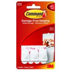 COMMAND HOOKS - MICRO - WHITE