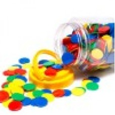 COUNTERS - ROUND - 25MM - TUB 400 - SOLID
