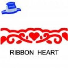 BORDER PUNCH - RIBBON HEART - CP16L