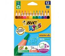 BIC KIDS TRIANGULAR PENCILS 12'S FULL