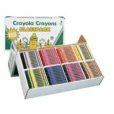 CRAYOLA - CLASSPACK BULK CRAYONS - 400