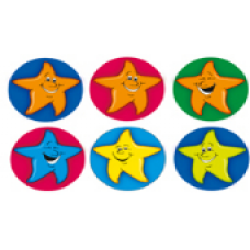 Merit Stickers - Dynamic Dots - Stars 13mm DD405