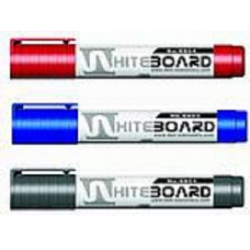 DELI - WHITEBOARD MARKER - BULLET TIP - BLACK