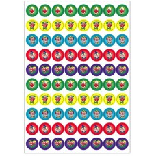 Merit Stickers - Dynamic Glitz - Clown Glitter DG597