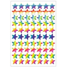 Merit Stickers - Dynamic Glitz - Laser Stars DG598