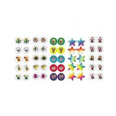 Merit Stickers - Dynamic Glitz - Mixed Glitter Dots DG600