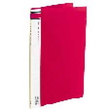 A4 Clearfiles 10 Page Red