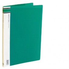 A4 Clearfiles 10 Page Green