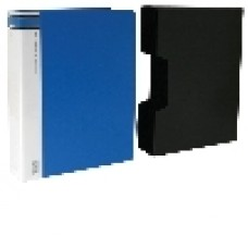 A4 Clearfiles 100 Page with Case Blue